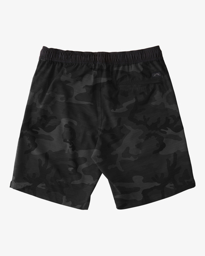 "5 Crossfire Elastic Short 18"" Black ABYWS00140 Billabong"