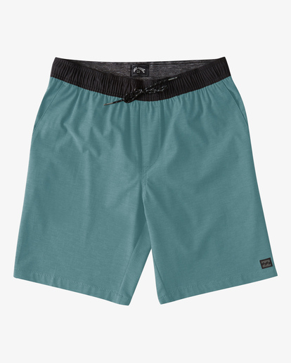"4 Crossfire Elastic Short 18"" Multicolor ABYWS00140 Billabong"