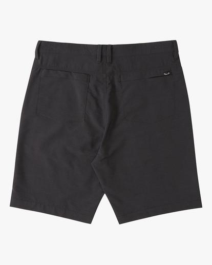 """1 A/Div Surftrek Wick Shorts 20"""" Black ABYWS00148 Billabong"""