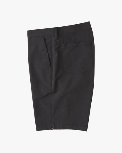 """2 A/Div Surftrek Wick Shorts 20"""" Black ABYWS00148 Billabong"""
