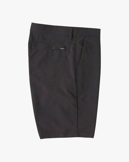 """3 A/Div Surftrek Wick Shorts 20"""" Black ABYWS00148 Billabong"""