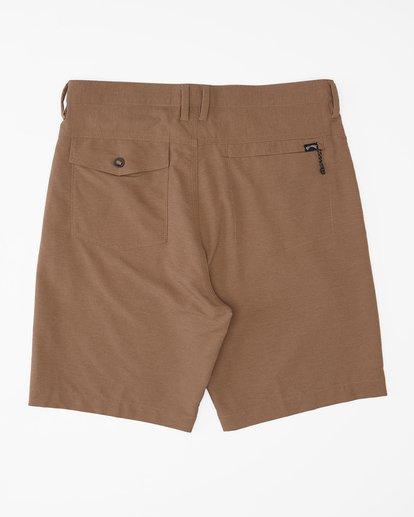 """1 A/Div Surftrek Wick Shorts 20"""" Brown ABYWS00148 Billabong"""