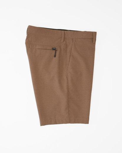 """2 A/Div Surftrek Wick Shorts 20"""" Brown ABYWS00148 Billabong"""