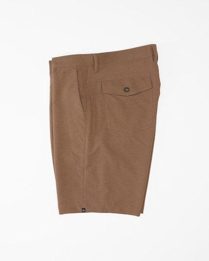"""3 A/Div Surftrek Wick Shorts 20"""" Brown ABYWS00148 Billabong"""
