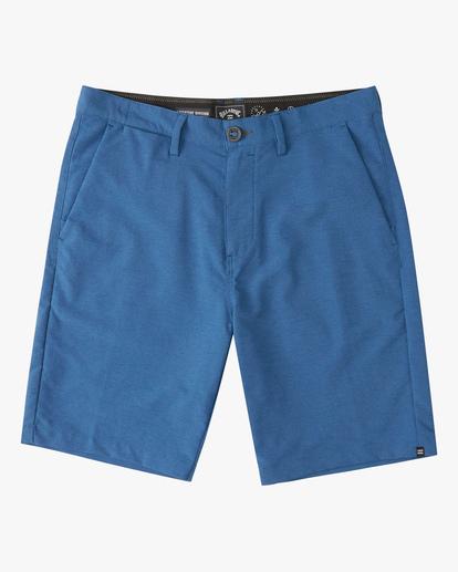 """0 A/Div Surftrek Wick Shorts 20"""" Blue ABYWS00148 Billabong"""