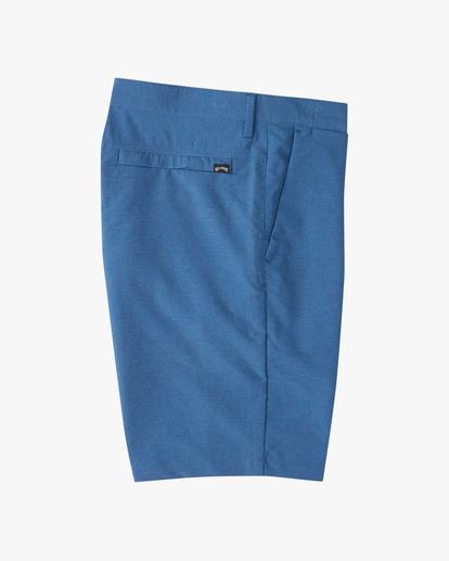 """3 A/Div Surftrek Wick Shorts 20"""" Blue ABYWS00148 Billabong"""