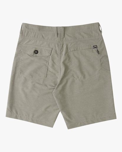 """1 A/Div Surftrek Wick Shorts 20"""" Grey ABYWS00148 Billabong"""