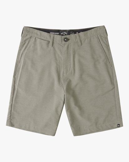 """0 A/Div Surftrek Wick Shorts 20"""" Grey ABYWS00148 Billabong"""