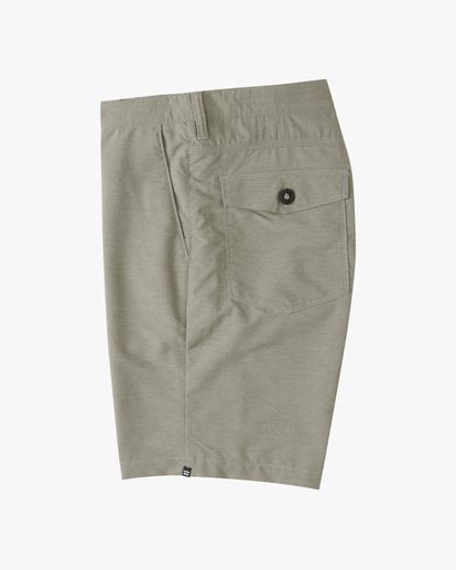 """2 A/Div Surftrek Wick Shorts 20"""" Grey ABYWS00148 Billabong"""