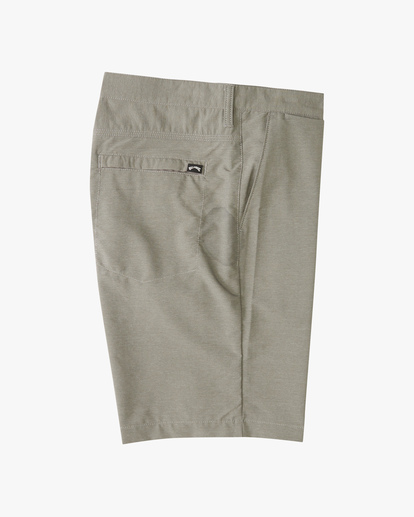 """3 A/Div Surftrek Wick Shorts 20"""" Grey ABYWS00148 Billabong"""