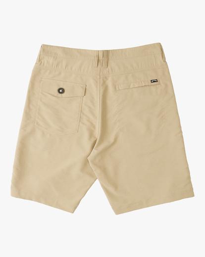 """1 A/Div Surftrek Wick Shorts 20"""" Beige ABYWS00148 Billabong"""