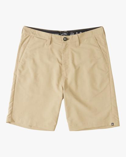 """0 A/Div Surftrek Wick Shorts 20"""" Beige ABYWS00148 Billabong"""