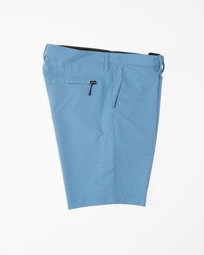 """2 A/Div Surftrek Wick Shorts 20"""" Blue ABYWS00148 Billabong"""
