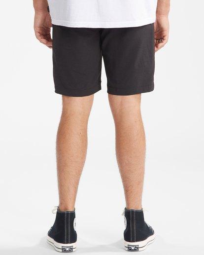 """7 A/Div Surftrek Wick Shorts 20"""" Black ABYWS00148 Billabong"""