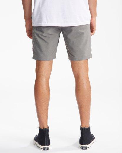 """6 A/Div Surftrek Wick Shorts 20"""" Grey ABYWS00148 Billabong"""