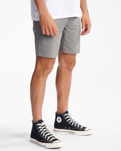 """5 A/Div Surftrek Wick Shorts 20"""" Grey ABYWS00148 Billabong"""