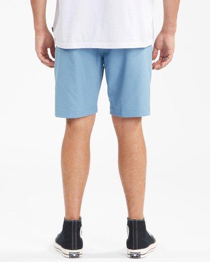 """7 A/Div Surftrek Wick Shorts 20"""" Blue ABYWS00148 Billabong"""
