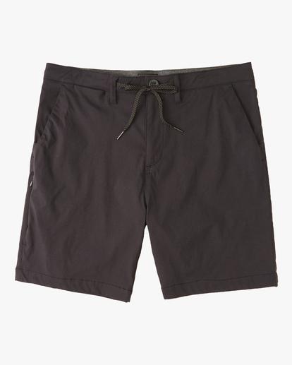 """0 A/Div Surftrek Wick Shorts 19"""" Black ABYWS00150 Billabong"""