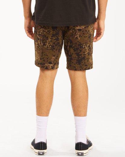 """7 A/Div Surftrek Wick Shorts 19"""" Black ABYWS00150 Billabong"""