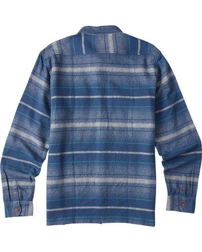 7 Offshore Long Sleeve Flannel Shirt Blue ABYWT00104 Billabong