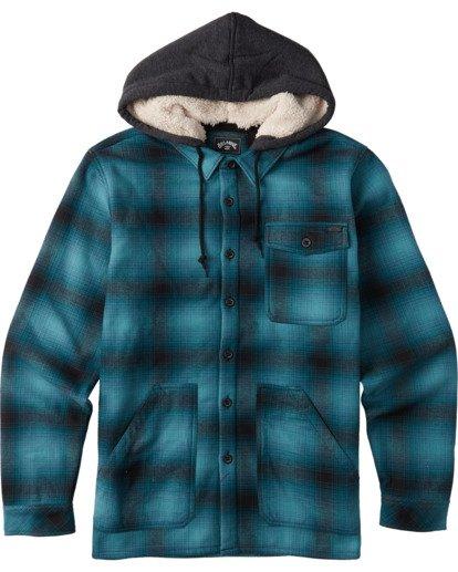 0 Furnace Bonded Flannel Blue ABYWT00106 Billabong
