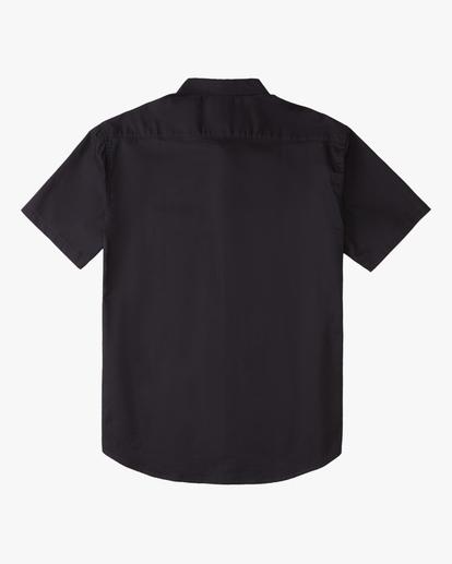 4 All Day Short Sleeve Shirt Black ABYWT00110 Billabong