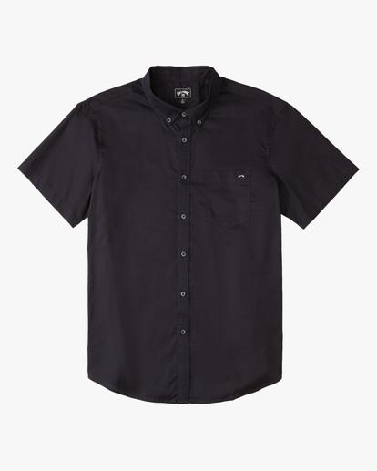 3 All Day Short Sleeve Shirt Black ABYWT00110 Billabong