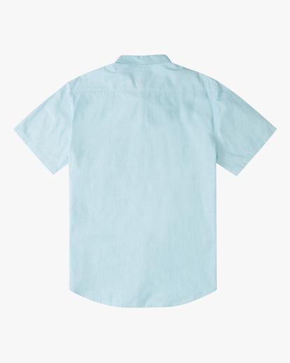 6 All Day Short Sleeve Shirt Blue ABYWT00110 Billabong