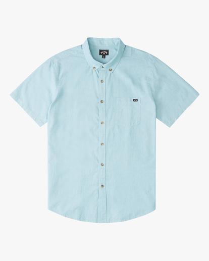 5 All Day Short Sleeve Shirt Blue ABYWT00110 Billabong