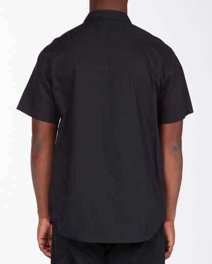 2 All Day Short Sleeve Shirt Black ABYWT00110 Billabong