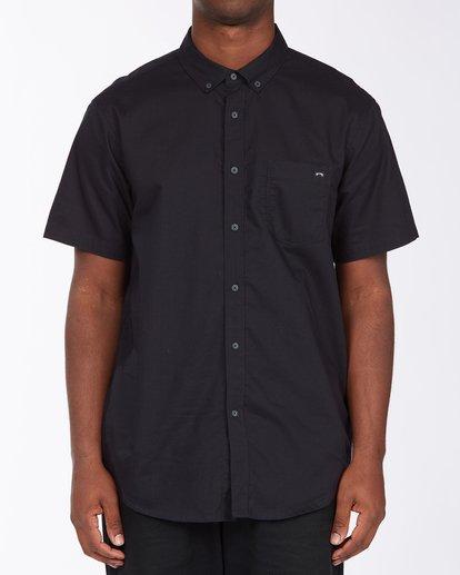 0 All Day Short Sleeve Shirt Black ABYWT00110 Billabong