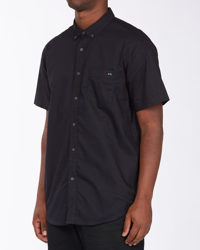 1 All Day Short Sleeve Shirt Black ABYWT00110 Billabong