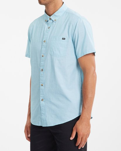 1 All Day Short Sleeve Shirt Blue ABYWT00110 Billabong