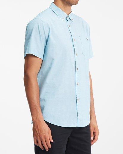 2 All Day Short Sleeve Shirt Blue ABYWT00110 Billabong
