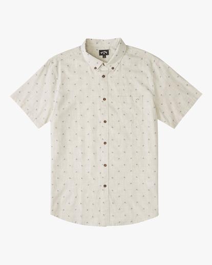 4 All Day Jacquard Shirt Beige ABYWT00111 Billabong
