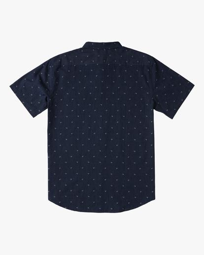 5 All Day Jacquard Shirt Blue ABYWT00111 Billabong