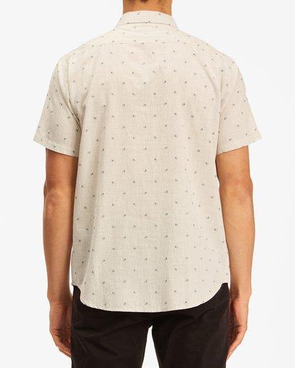 2 All Day Jacquard Shirt Beige ABYWT00111 Billabong
