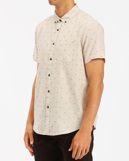 1 All Day Jacquard Shirt Beige ABYWT00111 Billabong