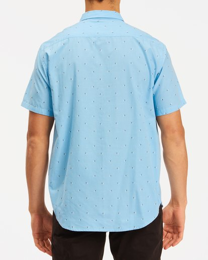 2 All Day Jacquard Shirt Blue ABYWT00111 Billabong