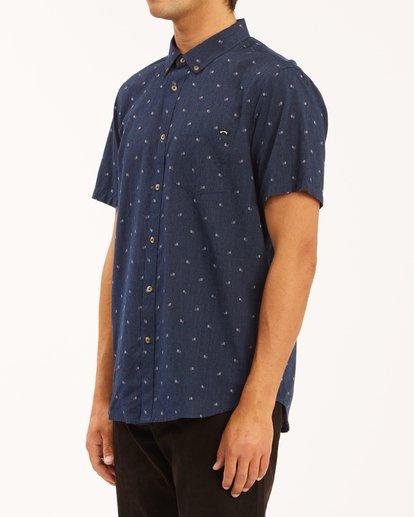 1 All Day Jacquard Shirt Blue ABYWT00111 Billabong