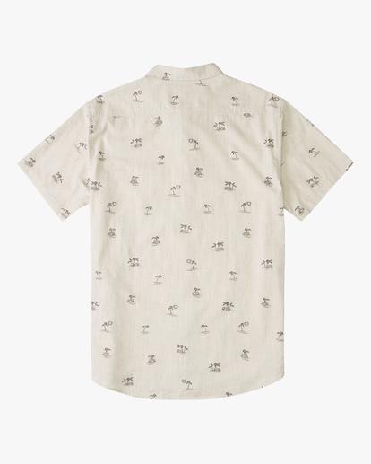 5 Sundays Mini Short Sleeve Shirt Beige ABYWT00112 Billabong