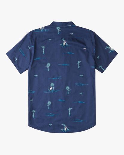 5 Sundays Mini Short Sleeve Shirt Brown ABYWT00112 Billabong