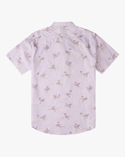 5 Sundays Mini Short Sleeve Shirt Purple ABYWT00112 Billabong