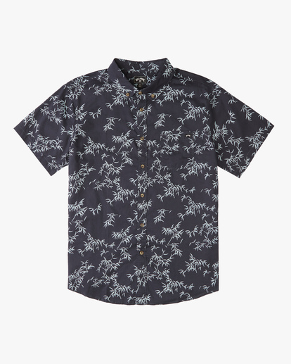 4 Sundays Mini Short Sleeve Shirt Blue ABYWT00112 Billabong