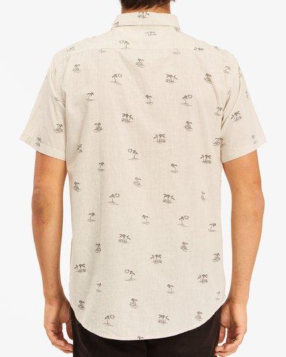 2 Sundays Mini Short Sleeve Shirt Beige ABYWT00112 Billabong