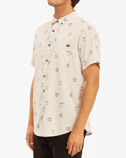 1 Sundays Mini Short Sleeve Shirt Beige ABYWT00112 Billabong