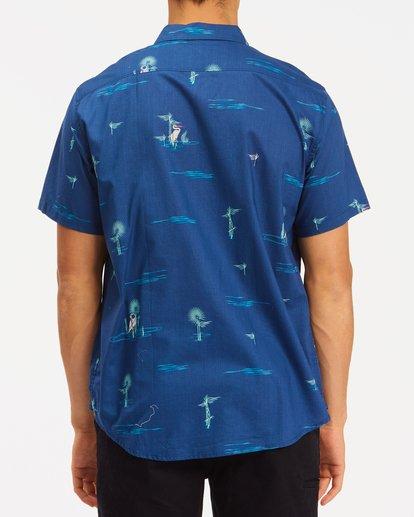 2 Sundays Mini Short Sleeve Shirt Brown ABYWT00112 Billabong