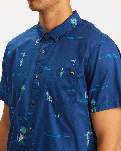 3 Sundays Mini Short Sleeve Shirt Brown ABYWT00112 Billabong