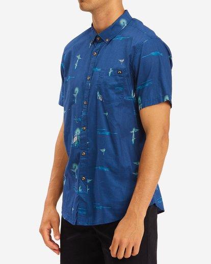 1 Sundays Mini Short Sleeve Shirt Brown ABYWT00112 Billabong