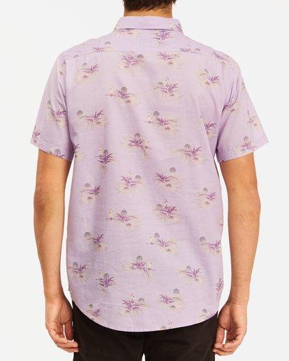 2 Sundays Mini Short Sleeve Shirt Purple ABYWT00112 Billabong